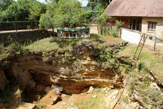 Lascaux, France : Lieu des fouilles