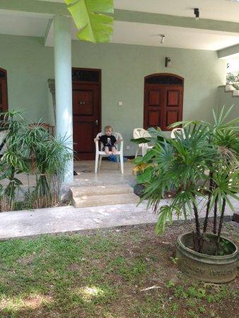Weliwatta: Terrasse