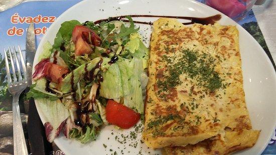 Biarritz Camping: Soirée disco au restaurant