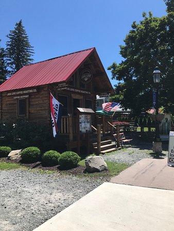 Roscoe, Estado de Nueva York: Mini-log cabin