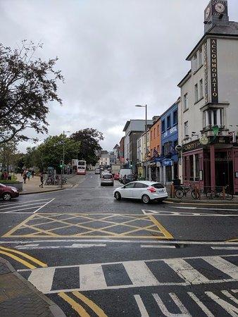 Hotel Meyrick: Street scene near the hotel.