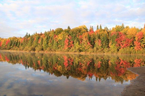 Mont-Tremblant National Park, Kanada: Lac chat matin