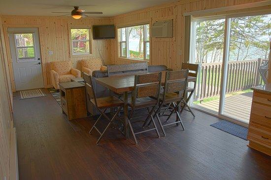 Walker, MN: Merit Cabin Living Room