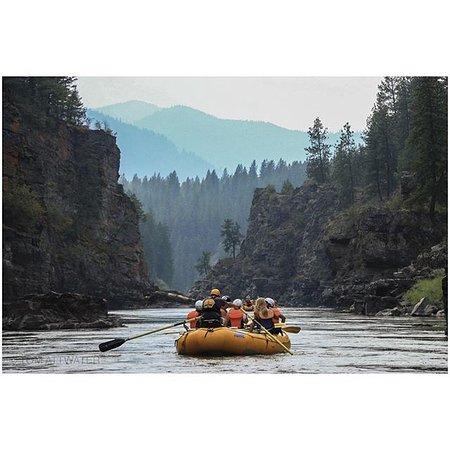 Alberton, MT: Scenic Raft Trips in Montana, Clark Fork River
