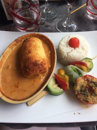 """Нантуа, Франция: """"Quenelle sauce Nantua"""". Je vous l'a recommande !!!"""