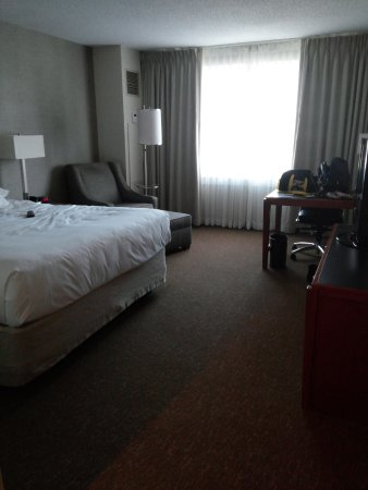 Hyatt Rosemont: 2 adults 1 King Bed