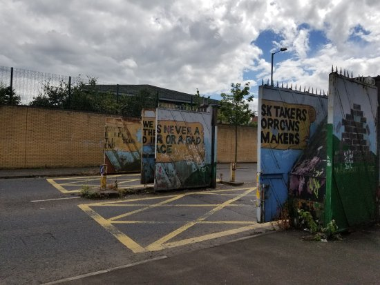 We were astounded at the ongoing impact on everyday life for Belfast mural tours