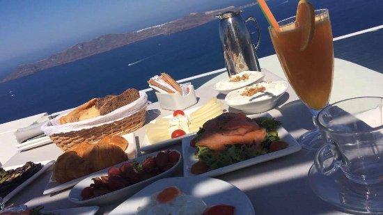 Andromeda Villas: Breakfast