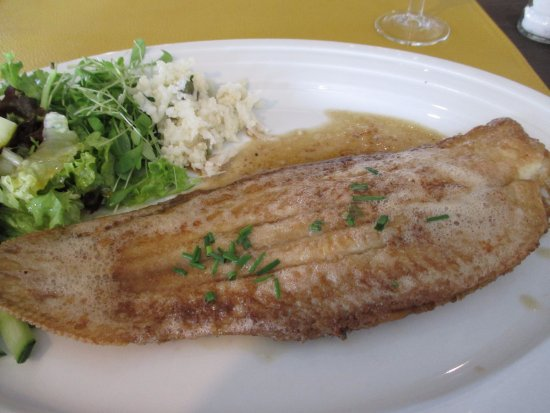 Torhout, Restaurant Chantilly, Dover sole