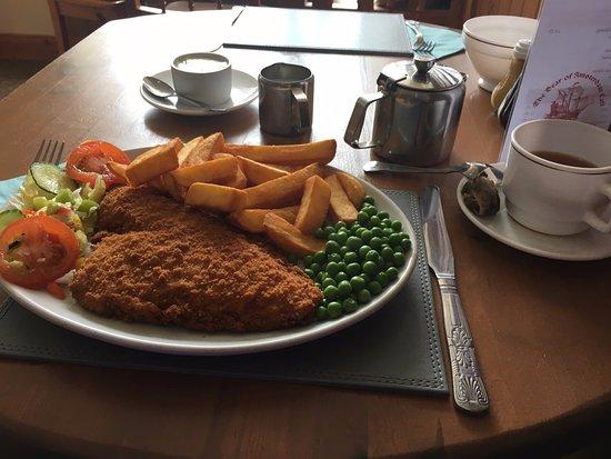 Aberdovey, UK: Main course
