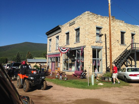 Pitkin, Kolorado: Historic building. Church and General Store within walking distance.