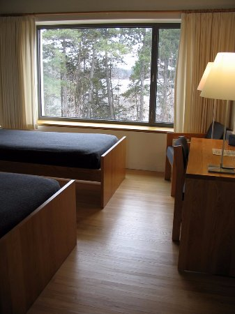 Collegeville, MN: Double room facing Lake Sagatagan.