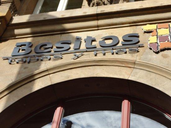 Besitos Mainz: しっかりと自己主張をしているカフェ