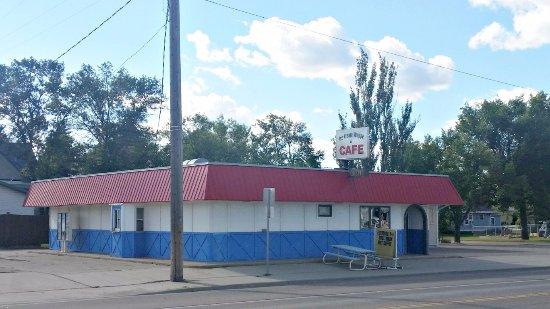Carrington, Северная Дакота: The Ice Cream Shoppe & Cafe