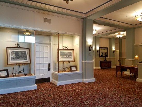 Falls City, NE: While strolling through the lobby....