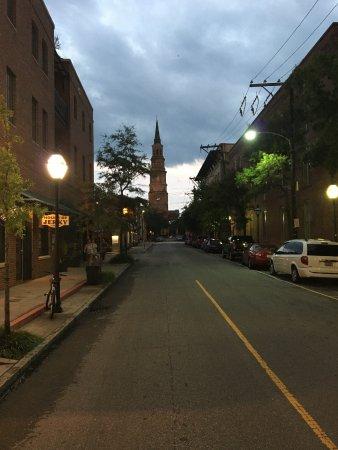 French Quarter Inn: Church Street View outside the hotel.
