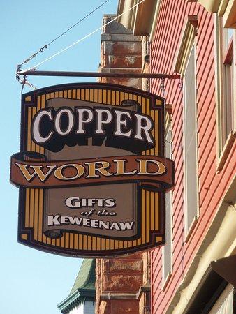 คัลเยอเมต, มิชิแกน: Copper World Sign