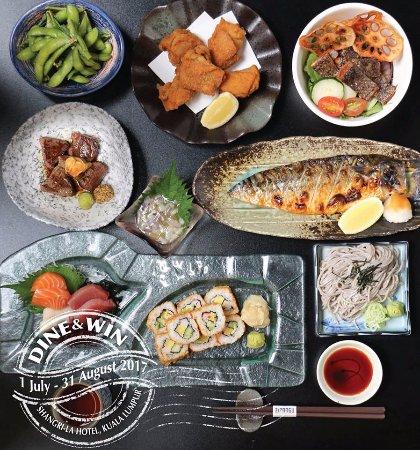 Izakaya Specials at Zipangu, eat-all-you-can Izakaya menu with a pre-welcome drink. Now till 25