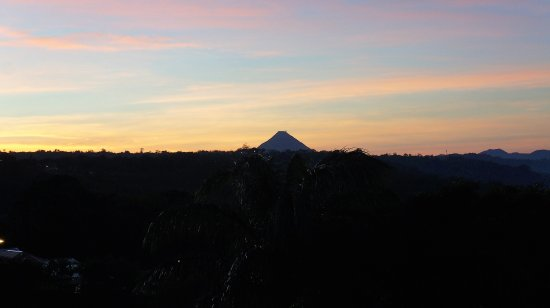 Nuevo Arenal, คอสตาริกา: View of Volcano Arenal from our Balcony, porch and terrace