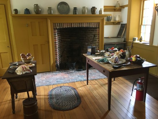 Perkins Stone Mansion John Brown House Kitchen In