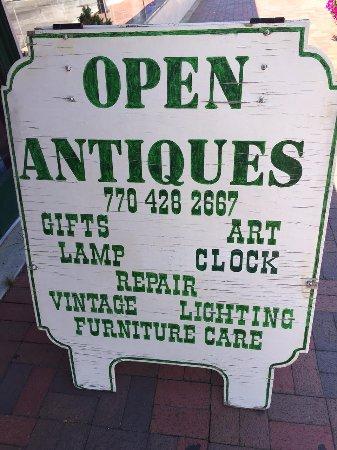 Marietta, GA: street sign