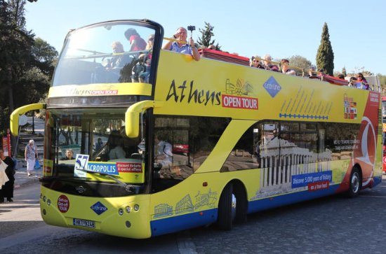 Tour Hop-On Hop-Off di Atene, Pireo e