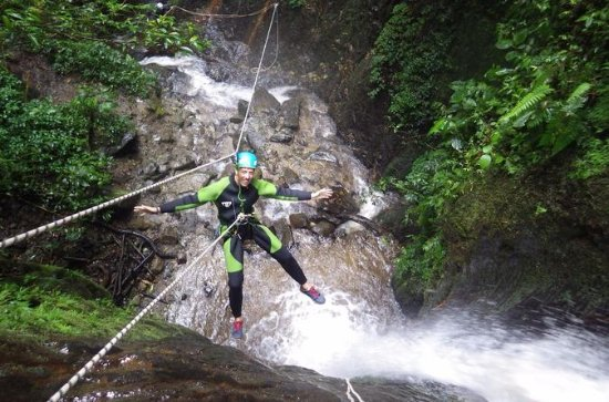 Canyoning in Rio Blanco from Baños