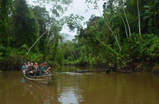 9日間または11日間のガイアナ・バロ・ブルロ川の旅