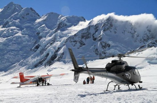 45-Minute Mount Cook Ski Plane and...