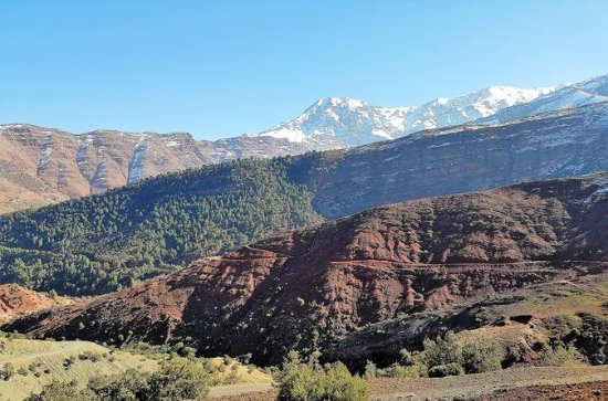 Marrakech til Imlil Valley Tour med...
