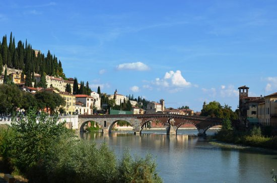 Verona helgedagstur från Gardasjön