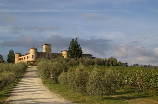 Winery Tour i et slot i Toscana