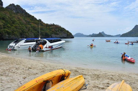 Snorkel and Kayak Trip to Angthong...