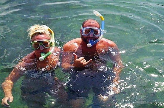 Excursión a Cahuita en barco, buceo...
