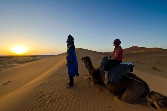 Full-Day Merzouga Desert Private Tour...