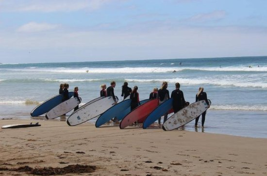 Urquhart Bluff Surf Lesson on the Great Ocean Road