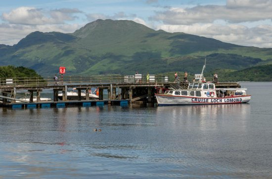 Loch Lomondサーキュラークルーズ:LussのCapercailli…