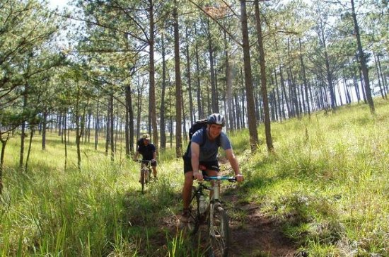 4-dagars Dalat Mountain Bike Tour