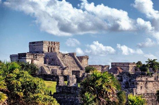 Combinado: ruinas de Tulum, nadar en...