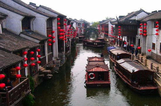 Zhouzhuang and Jinxi Water Town Tour