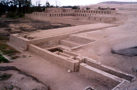 Tour to Pachacamac Ruins and...