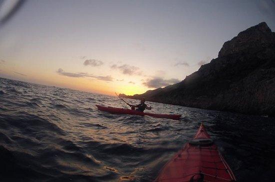 Sorrento: viaje nocturno en Kayak...