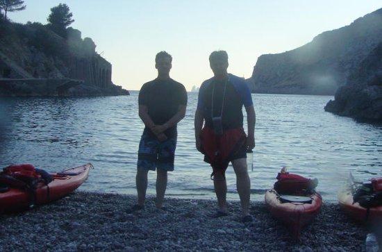 Sorrento: Excursión nocturna en kayak...