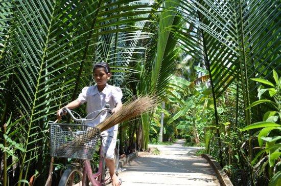 Radfahren Mekong Delta Ben Tre 2 Tage