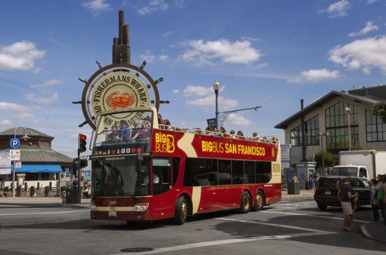 Big Bus San Francisco Night Tour