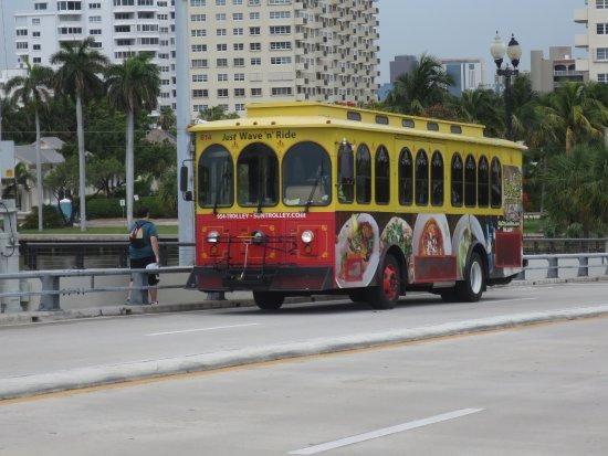 Sun Trolley: バス外観