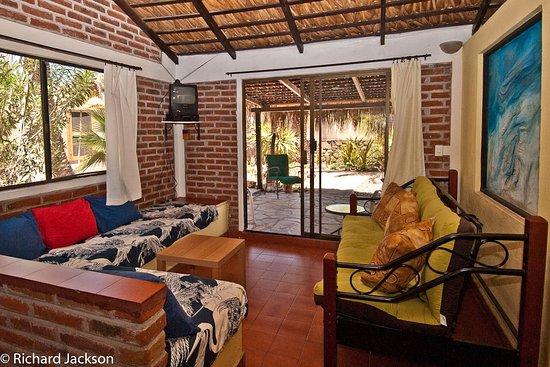 bungalow 2 living room area with shaded patio and beautiful rh tripadvisor com