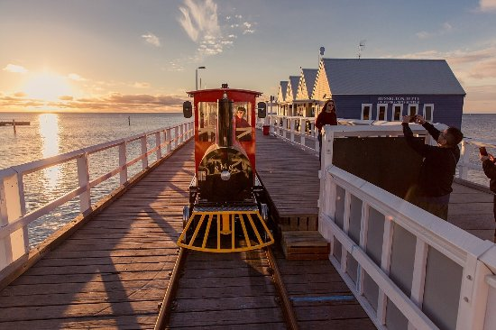 The Busselton Jetty Train
