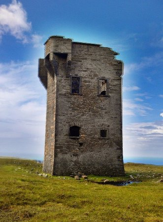 Glencolmcille, Irland: The tower
