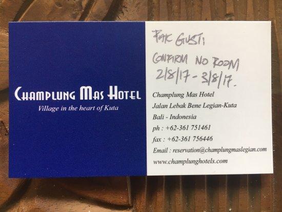 โรงแรมจัมปลุง มาส: photo0.jpg